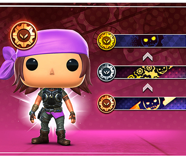 A Funko Pop! Gears POP! Leader stands on the left with the Season 3 banner prizes on the right.