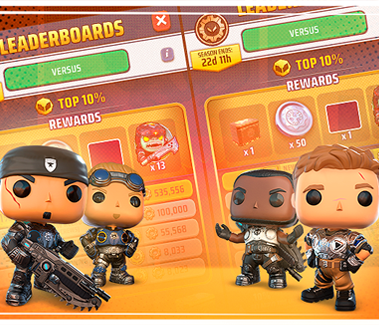 Leaderboard feature image for Gears POP!