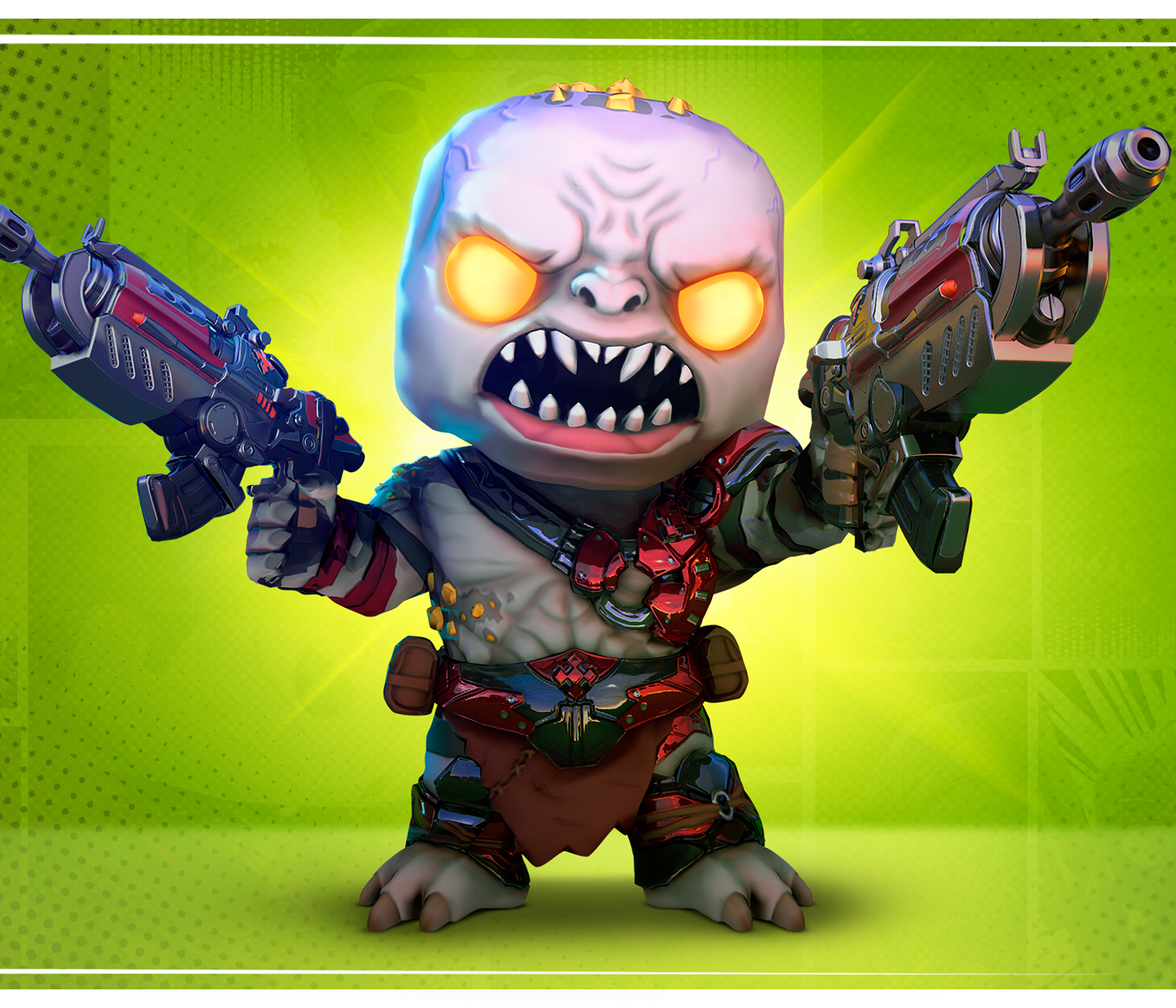 Scion with two Hammerburst from Gears POP!